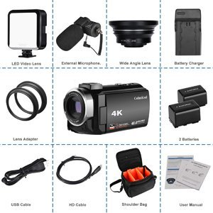 best 4k camcorder under 500