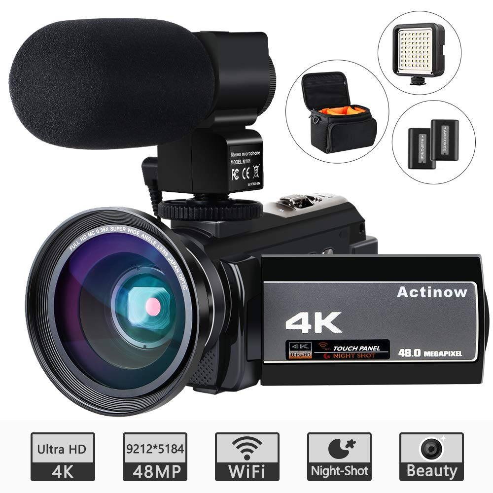 Video Camera 4K Camcorder Ultra HD
