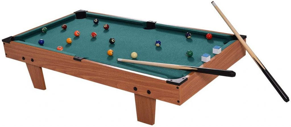 GYMAX – 36-inches Mini Pool Table