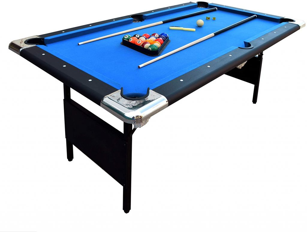 Hathaway - 6-Feet Fairmont Portable Pool Table