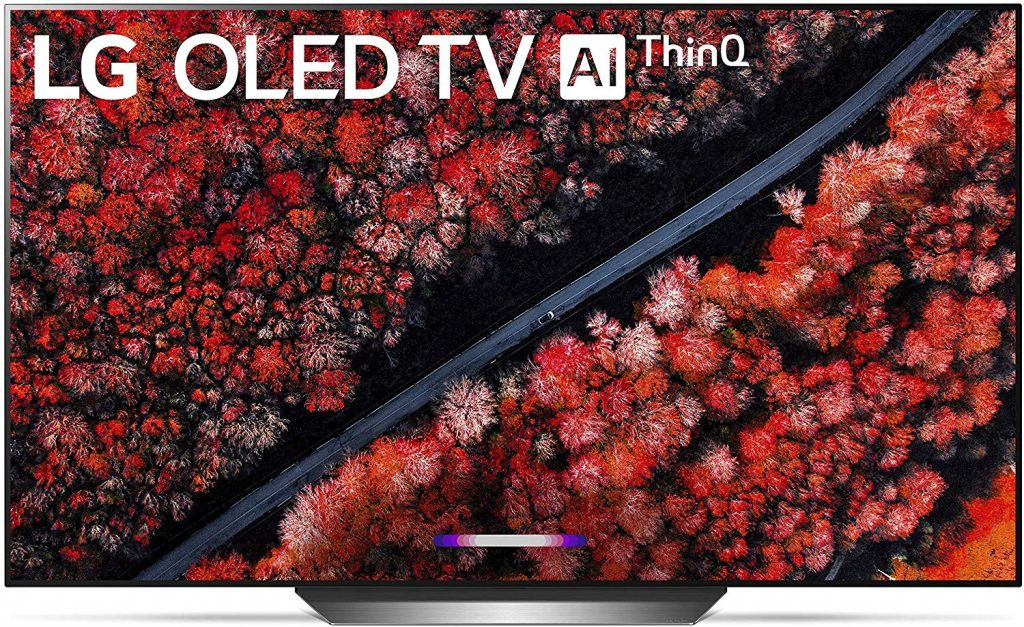"LG 4K Ultra HD 77"" Smart OLED TV"