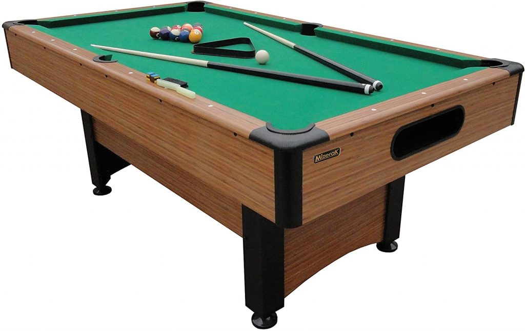 Mizerak - 6.5-feet Dynasty Space Saver Billiard Table