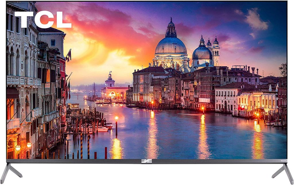 "TCL 4K UHD 55"" QLED Roku Smart TV"