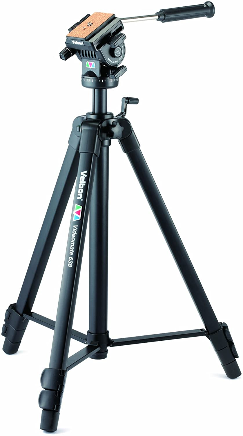 Velbon Videomate-638 Video Tripod