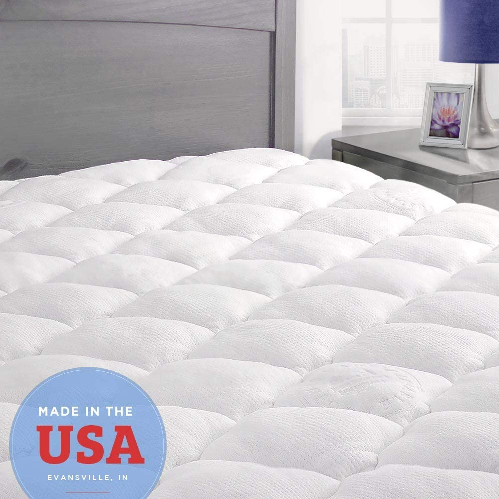 Top 10 Best Mattress Topper for Heavy Person Review 2020 6