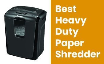 What is the Best heavy duty paper shredder for home use in 2021? 3