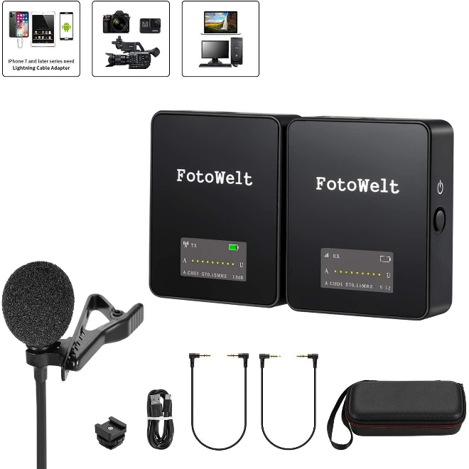 10 Best External Microphone for Iphone (8,X,11) ipad (Lightning & TRRS) (2021) - Review & Guideline 1