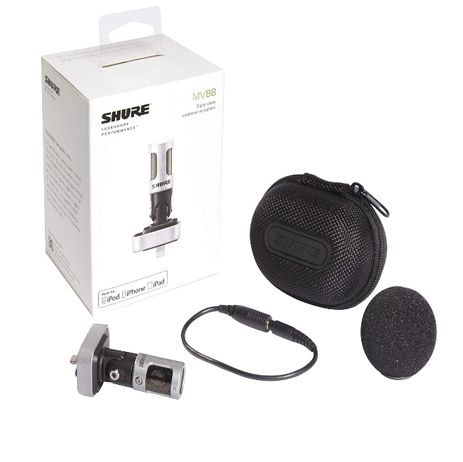 Shure MV88/A iOS Microphone