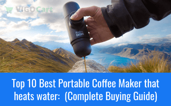Top 10 Best Portable Coffee Maker that heats water:  (Complete Buying Guide) 2