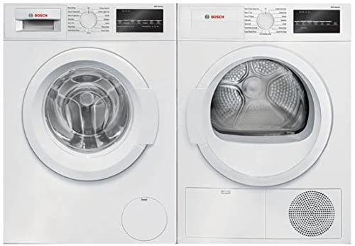 White Front Load Laundry Pair