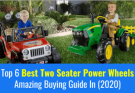 Best Two Seater Power Wheels