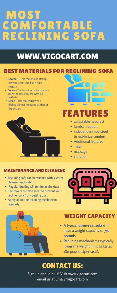 Top 7 Most Comfortable Reclining Sofa [ Buying Guide-2021 ] 8