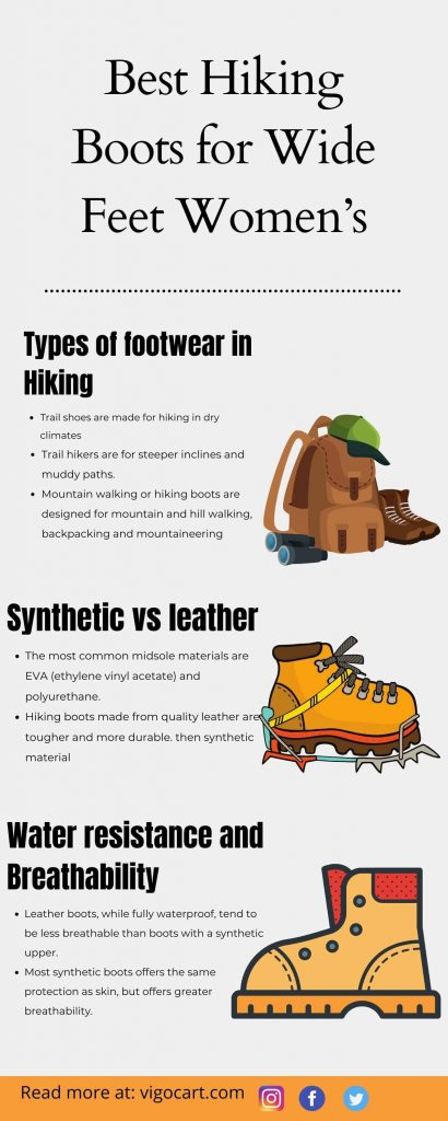 Best Hiking Boots For Wide Feet Women's