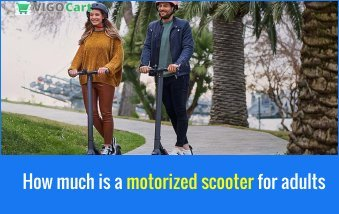 How much is a motorized scooter for adults? 5